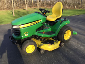 JOHN DEERE X534 LAWN TRACTOR AND SNOW BLOWER