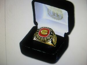 Brand New Montreal Canadians  Ring   size  11