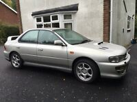 Subaru Impreza Uk2000 turbo standard unmolested