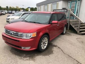 2011 Ford Flex SEL RUBY RED WITH BACK LEATHER