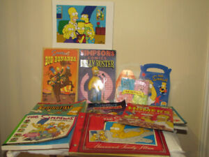 FOR SALE THE SIMPSONS BOOKS, COMICS +++