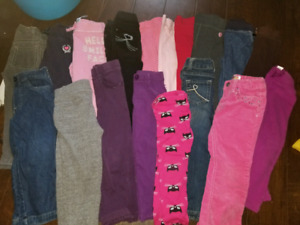 Size 3 girls fall lot