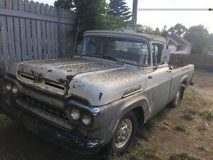 1959 Mercury half ton