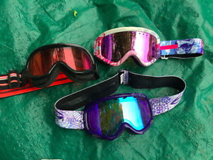 3 Kids Ski goggles - $10 each