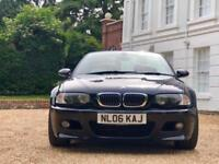2006 06 BMW E46 M3 3.2 Convertible Manual Cabriolet / BLACK WITH RED LEATHER