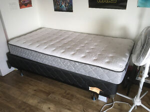Twin bed set less than a year old