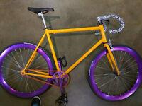 Vélo fixie - single speed bike like new!