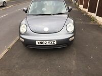 VW BEETLE 2.0 SPARES /REPAIRS USED DAILY MOT TILL NEXT YEAR