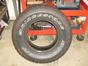 15 in.Bridgestone AT tire