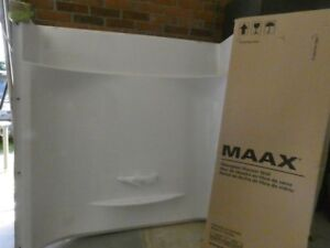 maax shower surround with wall kit