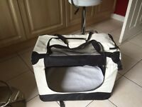 Dog carry bag and bed
