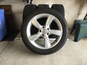Audi A3 Winter Tires on Alloy Rims, Also Fits VW's Jetta, Golf