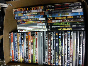 Lot of 51 DVD movies and box sets - all 2 for $5 - $120 for all