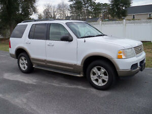 2004 FORD EXPLORER EDDIE BAUER-HEATED LEATHER-SUNROOF