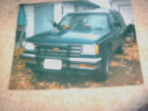 1985--1988 Gmc Jimmy ---1994 chevy s10