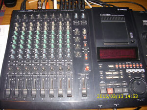 Yamaha Md8 8 track digital recorder and Sony CD burner