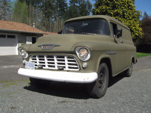 1956 CHEV US ARMY PANEL - RUST FREE - 350/700R4