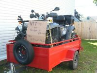 ATV for sale with trailer plus accessories
