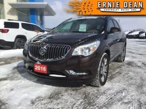 2016 Buick Enclave Leather  ONE OWNER - DIAMOND IN THE ROUGH - A