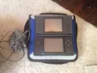 Nintendo ds with 6 games, barely used!