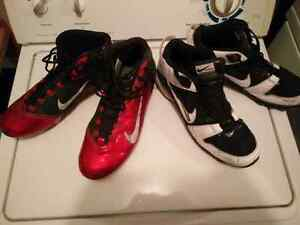 Football cleats size 13 & 11.5