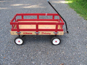 Wooden wagon 16 x 34 inches $88