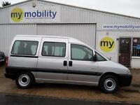 Citroen Dispatch WINCH 6 Seat Wheelchair Scooter Disabled Adapted Accessible