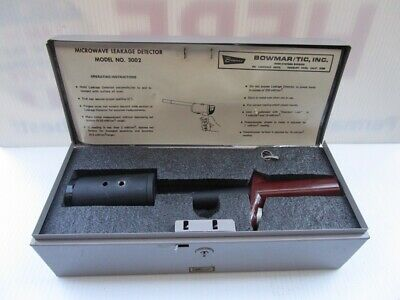 Bowmartic Oven System Microwave Leakage Detector Model 3002