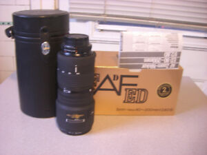 Nikkor AF 80-200mm 1:2.8 D Like New with Box and Papers
