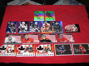 50-plus McDonald's hockey inserts; AND 50 Gretzky inserts