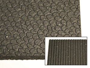 "NEW! 4' x 6' x 1/2"" Rubber Mats for Industrial Flooring & more"