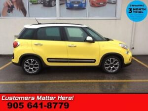 "2014 Fiat 500L Trekking  NAV PANO-ROOF BT 17""ALLOYS"