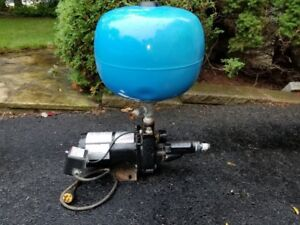 1/2 Horse power Jet Pump with pressure switch and receiver tank
