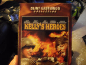 Kelly's Heroes on North American VHS w Clint Eastwood, Telly Sav
