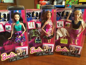 New! Barbie style glam night Barbie and accessories Reduced!! Kitchener / Waterloo Kitchener Area image 1