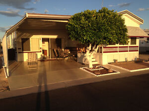 FOR RENT: Park model in Mesa Regal Resort Park in Mesa AZ.