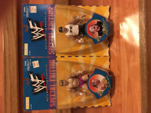 WWF WWE MOC Wrestling Figures Stone Cold DX