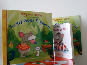 NEW - TOOPY AND BINOO  Books