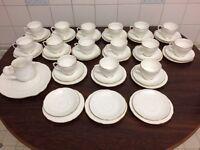 Duchess fine china tea set, 15 trios + in excellent condition