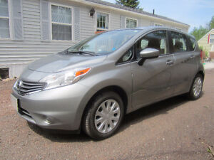 2015 Nissan Versa Note Hatchback Grey in color