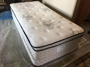 Extra long firm twin size bed