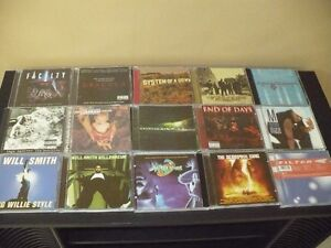 films VHS, CD musique, microsillons