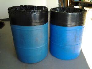 Large Garbage Barrels