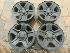 4 ORIGINAL 16'' JEEP RIMS/JANTES 5x127 GRAND CHEROKEE, COMMANDER