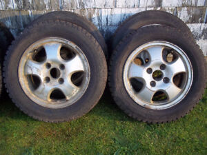 "09 civic 16"" rims and 1997 accord 15""rims with good tires"