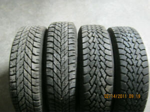 Winter Tires 175/70/R14   on Rims  from 2009 Kia Rio5