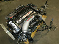JDM Nissan Skyline GTR R32 RB26DETT Turbo Engine 5 Speed awd tra