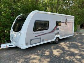 SWIFT CONQUEROR 530 - 4 BERTH - MOTOR MOVER - AWNING - VERY GOOD CONDITION