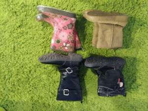 Toddler Size 8 Boot Lot