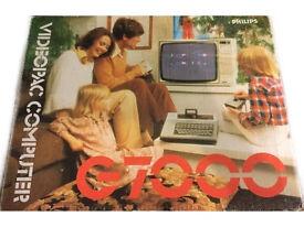Vintage philips videopac computer g7000 working free post freepost 5 10 11 18 games
